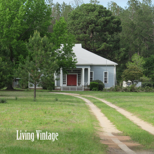 Our Home Is An Old Dogtrot Living Vintage